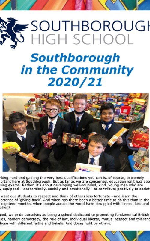 Southborough in the Community 2020/21