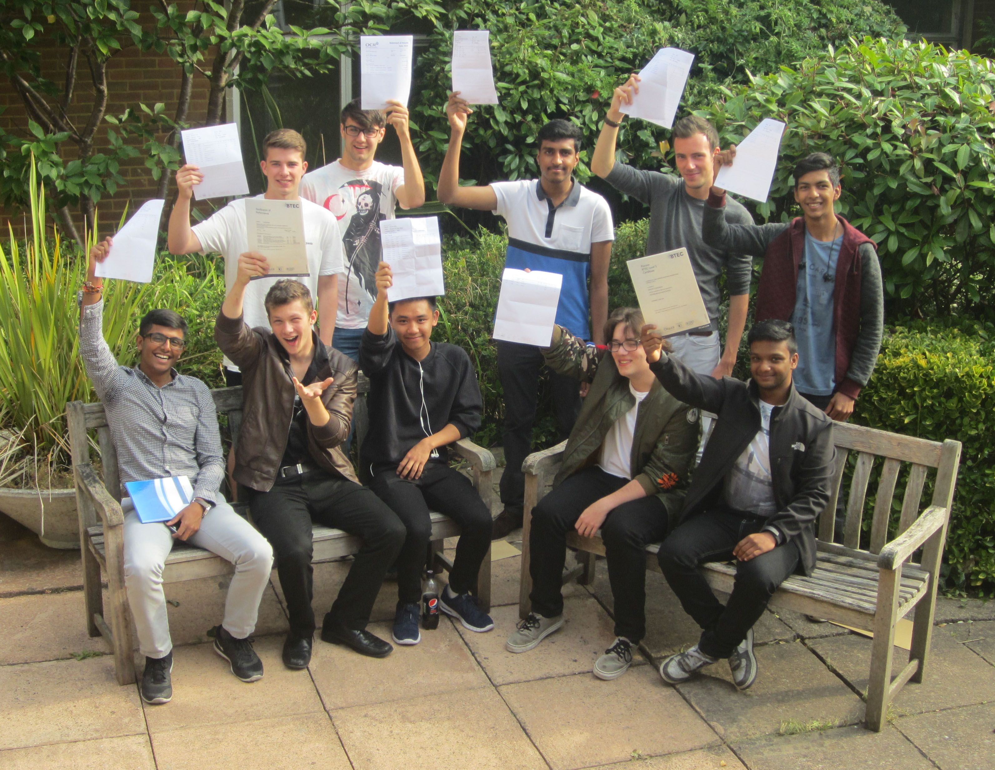 Sixth Form students celebrate exam success 2016
